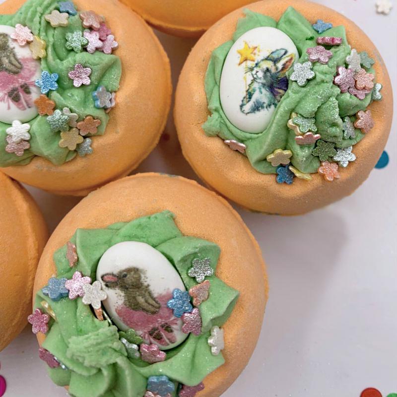 Бомбочка для ванны Принцесса Морковка