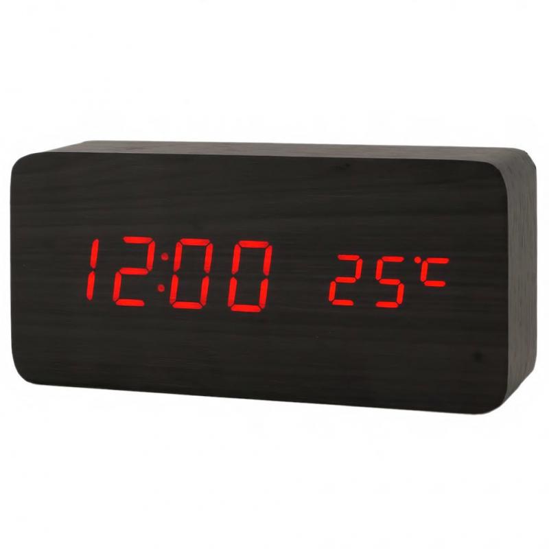 Деревянные часы Eco Clock